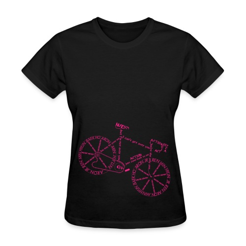 Action Bicycle - Women's T-Shirt