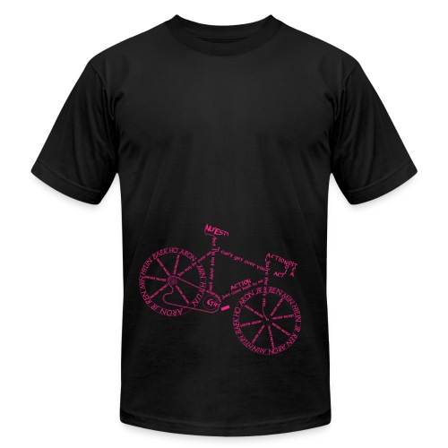 Action Bicycle - Men's Fine Jersey T-Shirt