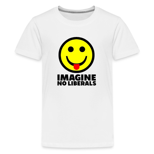 IMAGINE NO LIBERALS - Kids' Premium T-Shirt