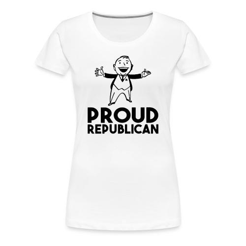 PROUD REPUBLICAN - Women's Premium T-Shirt
