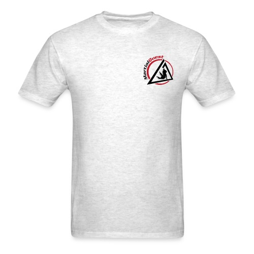 MartialQuest Standard Weight Adult T Shirt - Men's T-Shirt