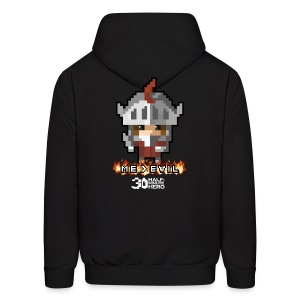 Me v EVIL Knight Men's Hoodie - Men's Hoodie