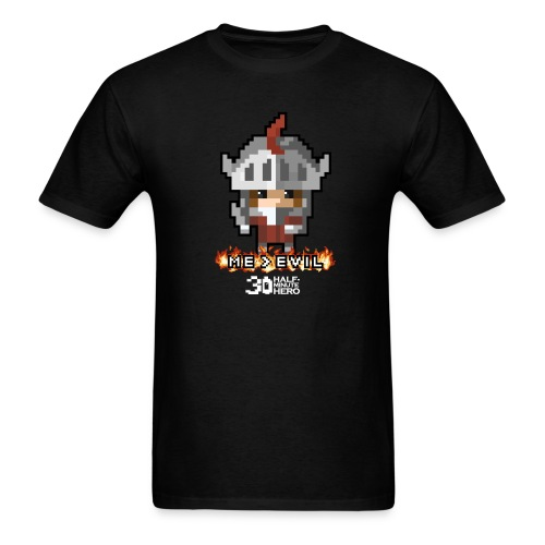 ME v EVIL Knight Men's T-Shirt - Men's T-Shirt