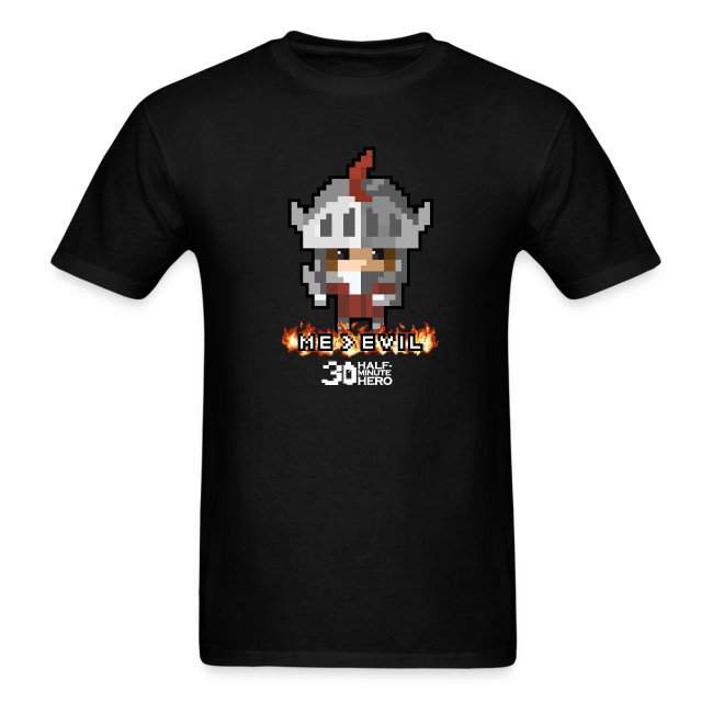 """ME v EVIL"" Knight Men's T-Shirt"
