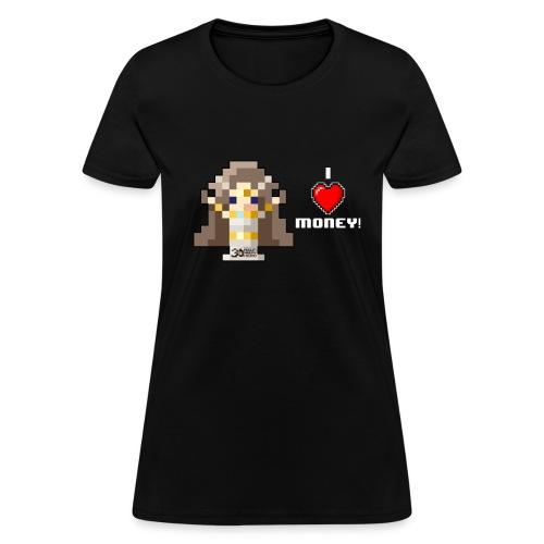 Time Goddess - I (HEART) Money! Women's T-shirt - Women's T-Shirt