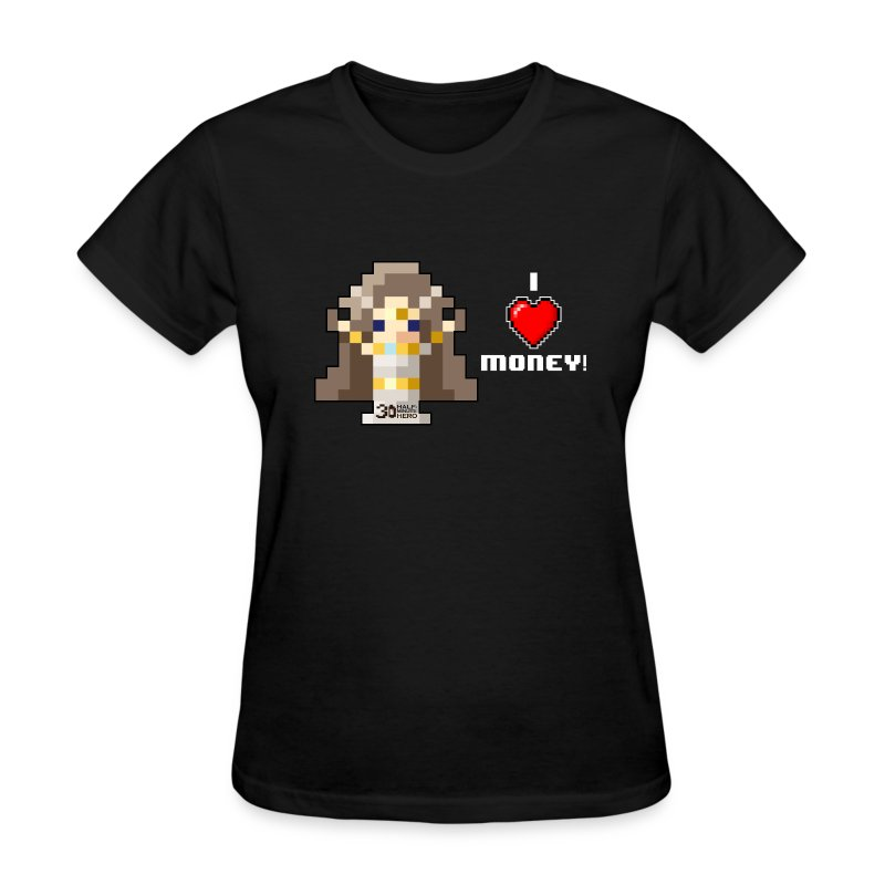 Time Goddess - I (HEART) Money! Women's T-shirt - Women's T-Shirt