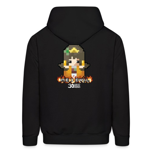ME v EVIL Princess hoodie - Men's Hoodie