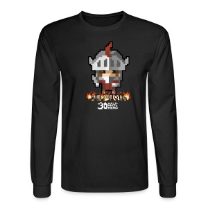 ME v EVIL Men's Long-sleeve T-Shirt - Men's Long Sleeve T-Shirt