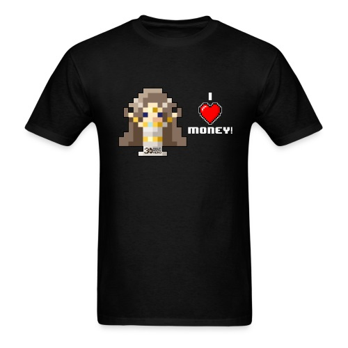 Time Goddess - I (HEART) Money! Men's T-shirt - Men's T-Shirt