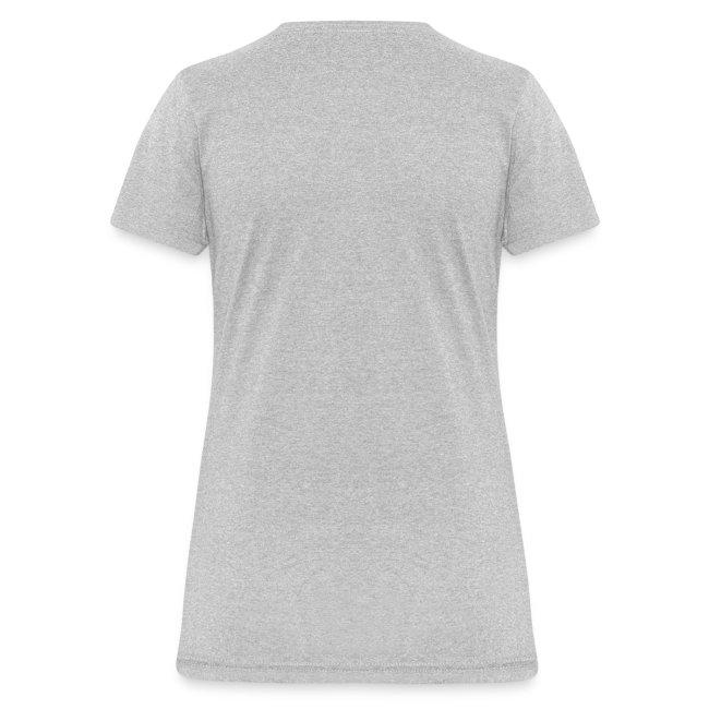 Half Minute Hero row of main characters with logo Women's T-shirt
