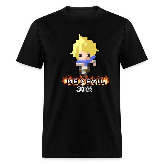 """""""ME v EVIL"""" Hero Men's T-shirt"""