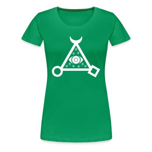 Cosmic Eye Womens Shirt - Women's Premium T-Shirt