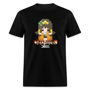 ME v EVIL Princess Men's T-shirt - Men's T-Shirt