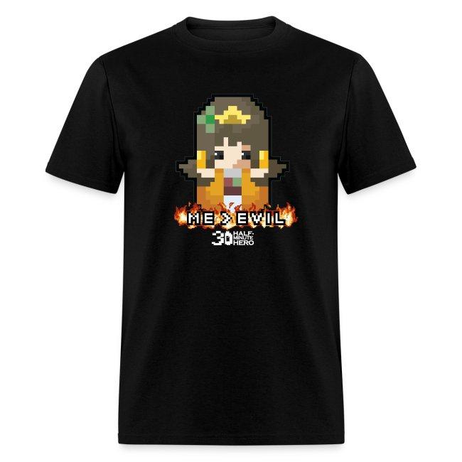 """""""ME v EVIL"""" Princess Men's T-shirt"""