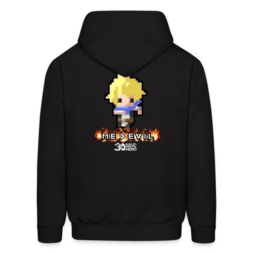 ME v EVIL Hero Men's hoodie - Men's Hoodie