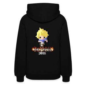 ME v EVIL Hero Women's hoodie - Women's Hoodie