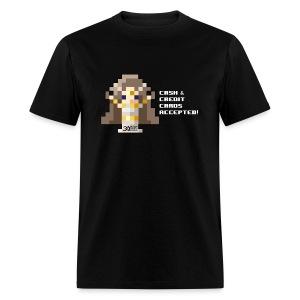 Time Goddess Credit Cards Men's T-shirt - Men's T-Shirt