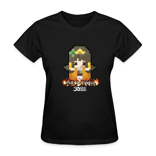ME v EVIL Princess Men's T-shirt - Women's T-Shirt