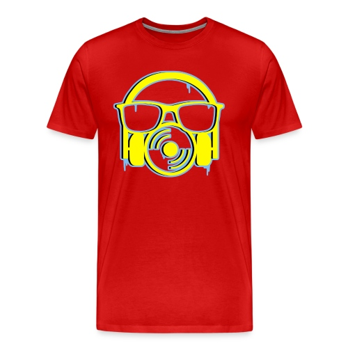 SeaningMusic Graffiti Men's T-Shirt - Men's Premium T-Shirt