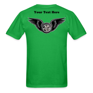 Mens T Back Hwing Custom - Men's T-Shirt