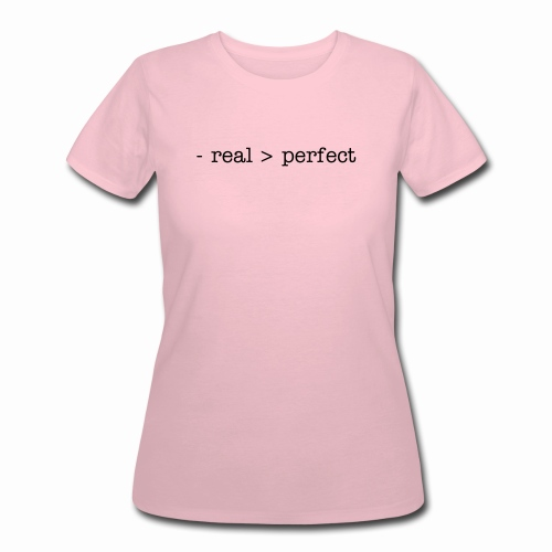 Womens T-Shirt real - Women's 50/50 T-Shirt