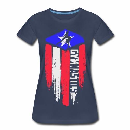 Fourth of Gymnastics  - Women's Premium T-Shirt