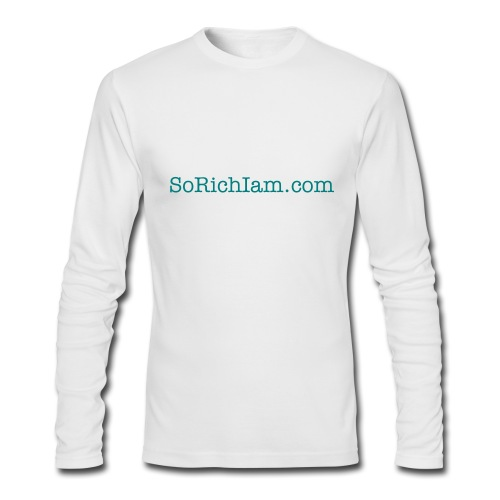 SoRichIam Men's Fitted Sleeve T- - Men's Long Sleeve T-Shirt by Next Level