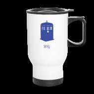 Mugs & Drinkware ~ Travel Mug ~ Sexy TARDIS - Doctor Who | Robot Plunger