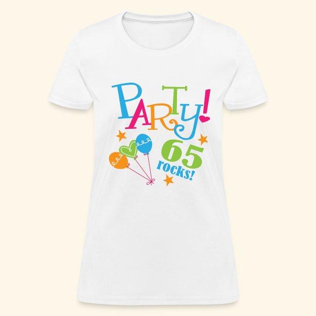 65th Birthday Party T Shirt