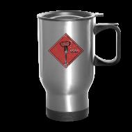 Mugs & Drinkware ~ Travel Mug ~ Ignorance is Bliss - Matrix | Robot Plunger