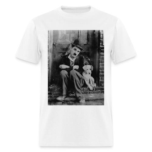 A DOG'S LIFE 1918 - CHARLIE CHAPLIN - Men's T-Shirt