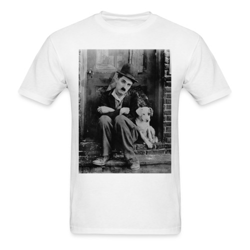 A DOG'S LIFE 1918 - CHARLIE CHAPLIN - Men's T-Shirt