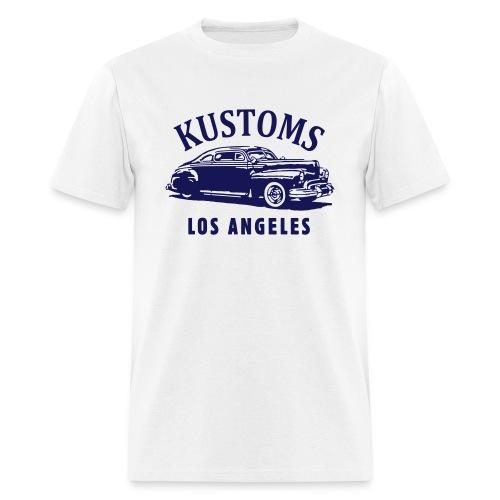 Marcia Campbell 42 Coupe Kustoms LA Single Color - Men's T-Shirt