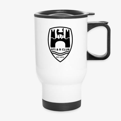 GTI & R Owners Club Travel Mug - Black Logo - Travel Mug