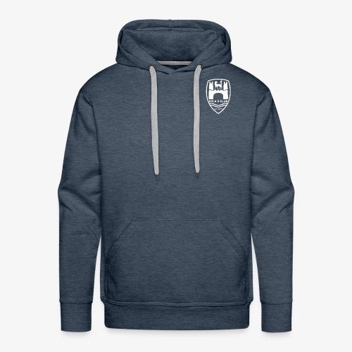 GTI & R Owners Club Hoodie - White Logo - Men's Premium Hoodie