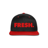 Caps ~ Snap-back Baseball Cap ~ SnapBack- Fresh
