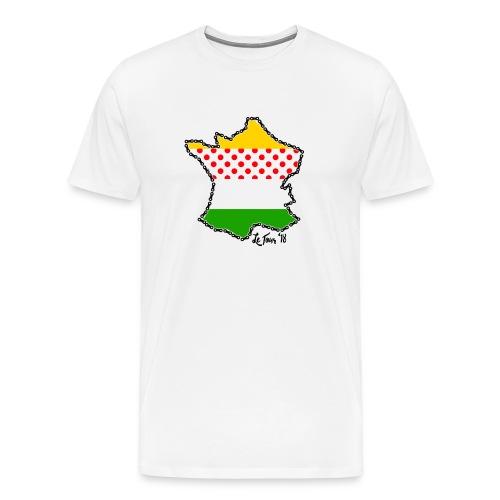 Le Tour '18 by Bob Roll - Men's Premium T-Shirt