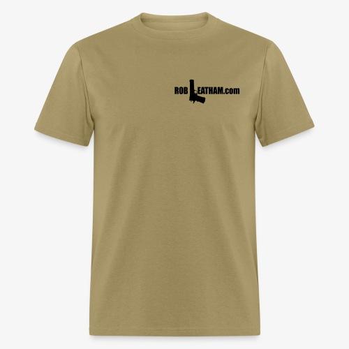 Way of Life - Men's Tee with BLACK Logo - Men's T-Shirt