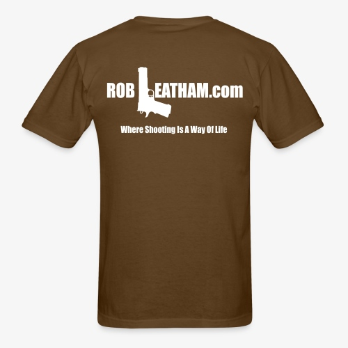Way of Life - Men's Tee with WHITE Logo - Men's T-Shirt