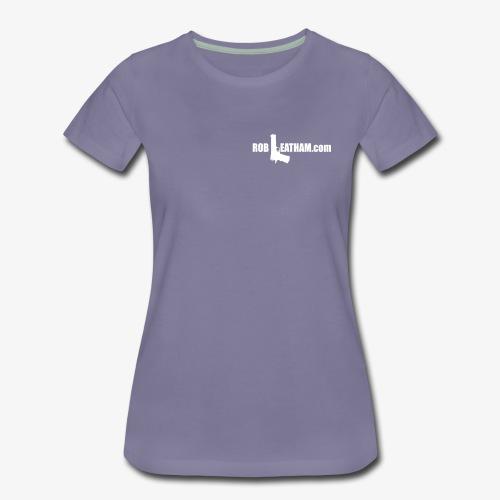 Way of Life - Women's Premium Tee with WHITE Logo - Women's Premium T-Shirt