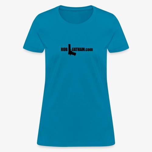 Way of Life - Women's Standard Tee with BLACK Logo (Runs SMALL) - Women's T-Shirt