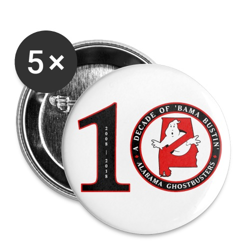 ALGB 10th Anniversary - Buttons large 2.2'' (5-pack)