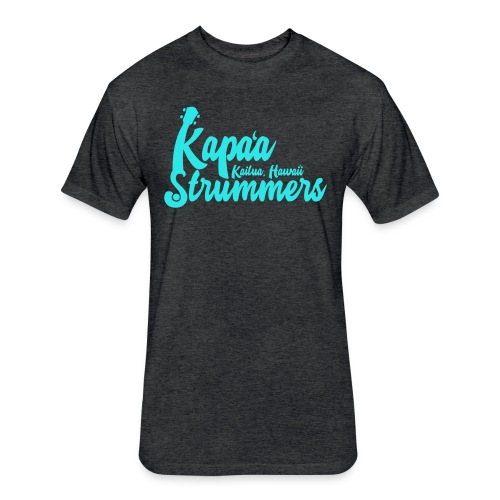 2018/2019 Kapa'a Strummers Shirt - Adult Premium Soft Cotton Blend - Fitted Cotton/Poly T-Shirt by Next Level
