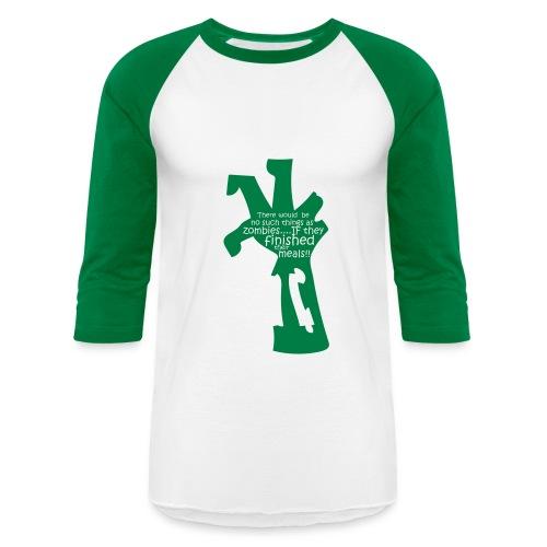 Baseball T-Shirt - zombie