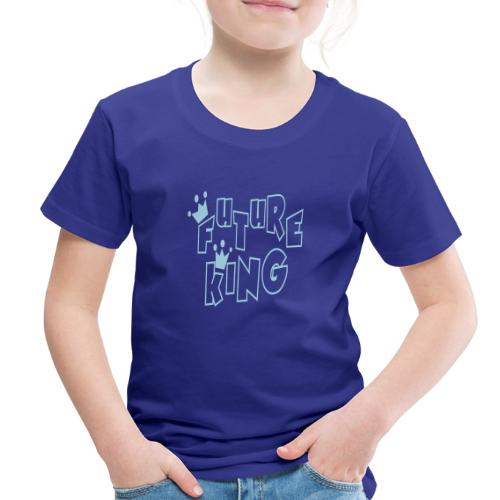 Future King Toddler Blue Premium T-shirt - Toddler Premium T-Shirt