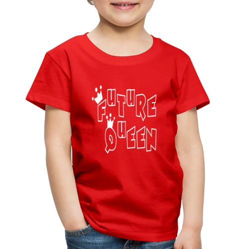 Future Queen Toddler Red Premium T-shirt - Toddler Premium T-Shirt