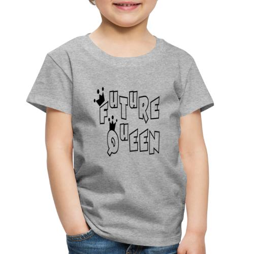 Future Queen Toddler Heather Gray Premium T-shirt - Toddler Premium T-Shirt