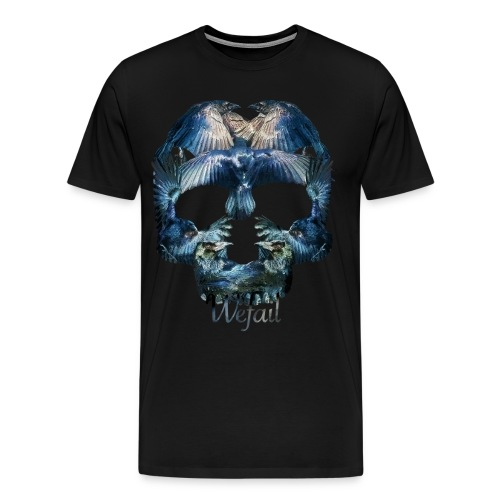 Crow Skull - Men's Premium T-Shirt