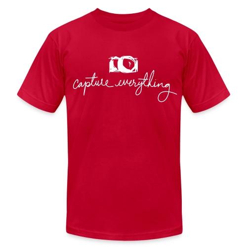 capture everything - Men's Fine Jersey T-Shirt
