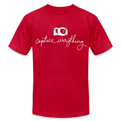 capture everything - Men's Fine Jersey T-Shirt